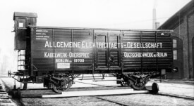 Märklin 48932 Märklin H0-Wärmeschutzwagen AEG, Ep. I, Preußen