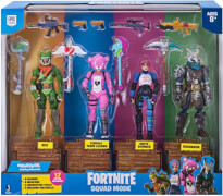 Jazwares Fortnite FNT0019 Squad Mode 4-er Figuren Set