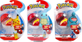 Pokémon Pop Action Pokéball Wave 4 sortiert