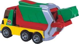 Bruder 20002 ROADMAX Mülllastwagen, ab 2 Jahren, Maße: 45,7 x 23,5 x 19,6 cm, Plastik & Kunststoff