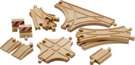 BRIO 33307002 Schienen- und Weichensortimen, Holz, ab 3 Jahren