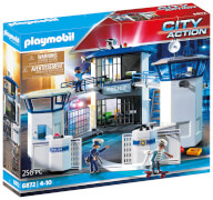 Playmobil 6872 Polizei-Kommandozentrale mit Gefängnis, ca. 63x26x45, ab 4 Jahren