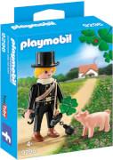 Playmobil 9296 Schornsteinfeger mit Glücksschweinchen
