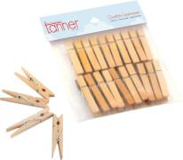 Tanner Wäscheklammern aus Holz, Zubehör Spielzeug