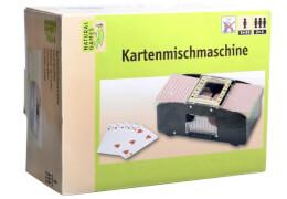 Natural Games Kartenmischmaschine elektrisch, für 2-4 Spieler, ca. 24,5x15,7x9,5 cm, ab 5 Jahren