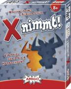AMIGO 01653 X Nimmt, für 2-4 Spieler, Spieldauer ca. 25 Min, Ab 8 Jahren.