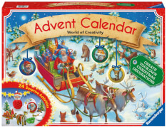 Ravensburger 116737 DIY Adventskalender 2017