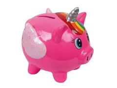 Keramikspardose Sparschwein pink